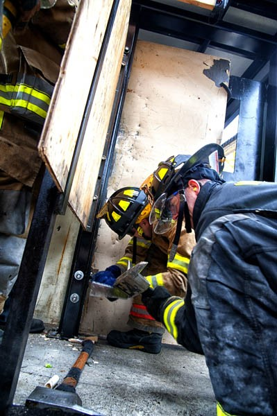 Long Hill Forcible Entry and Ventilation